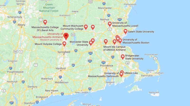 Where is University of Massachusetts Located? What City is University of Massachusetts in