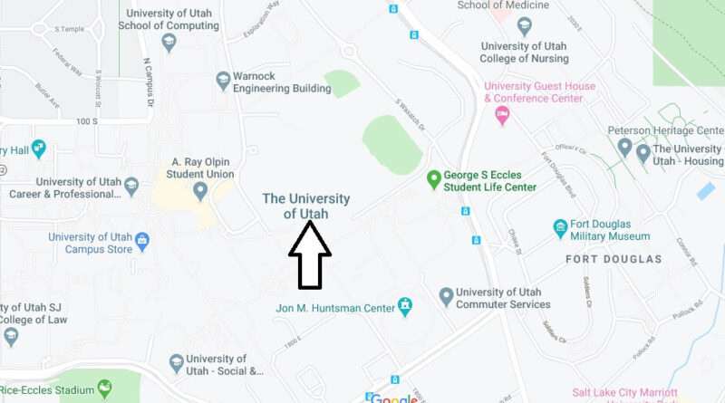 Where is University of Utah Located? What City is University of Utah in