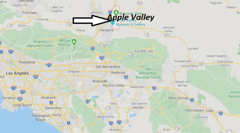 Where is Apple Valley California? What County is Apple Valley in