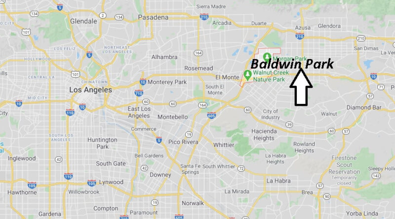 Where is Baldwin Park California? What County is Baldwin Park in