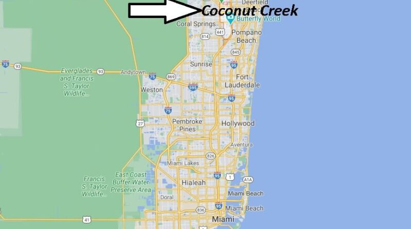 Where is Coconut Creek Located