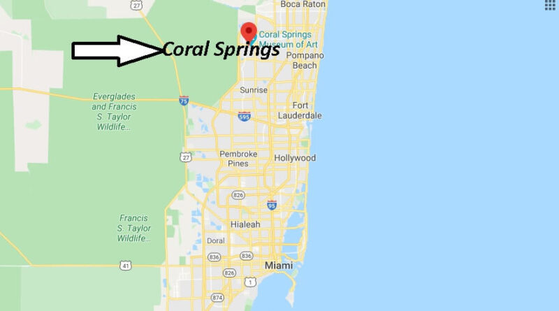 Where is Coral Springs Located
