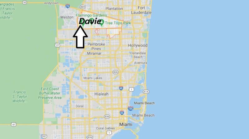 Where is Davie Located