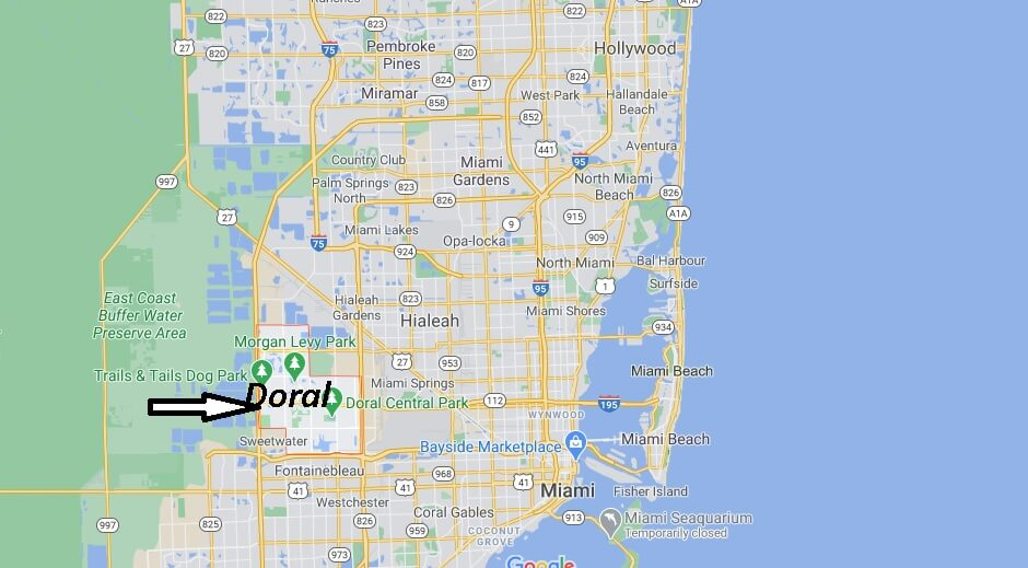 where is doral florida? what county is doral fl in | where