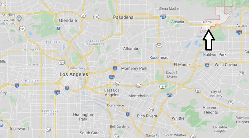 Where is Duarte Located