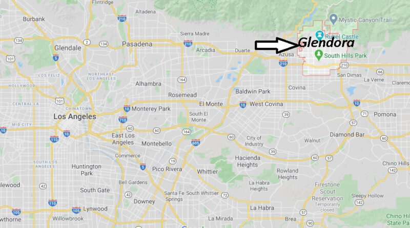 Where is Glendora California? What County is Glendora in