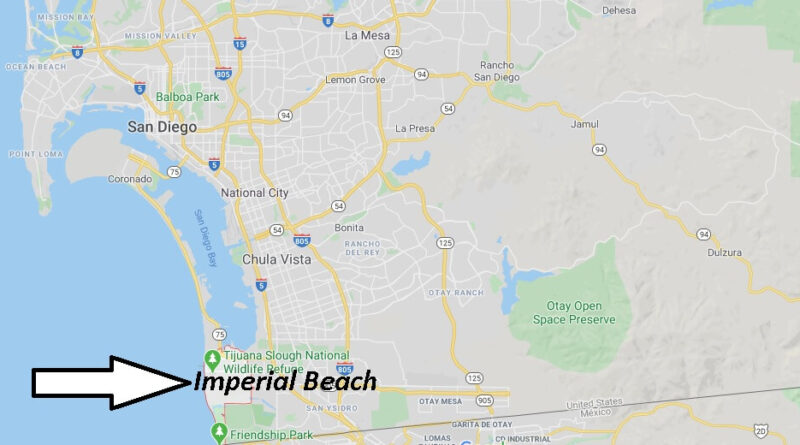 Where is Imperial Beach Located