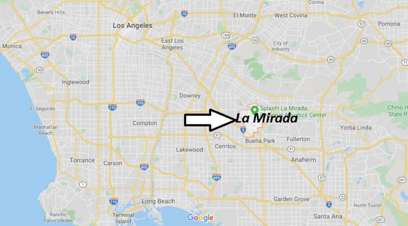 Where is La Mirada California? What County is La Mirada in