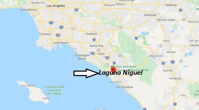 Where is Laguna Niguel California? What County is Laguna Niguel in