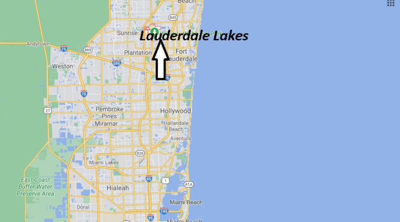 Where is Lauderdale Lakes