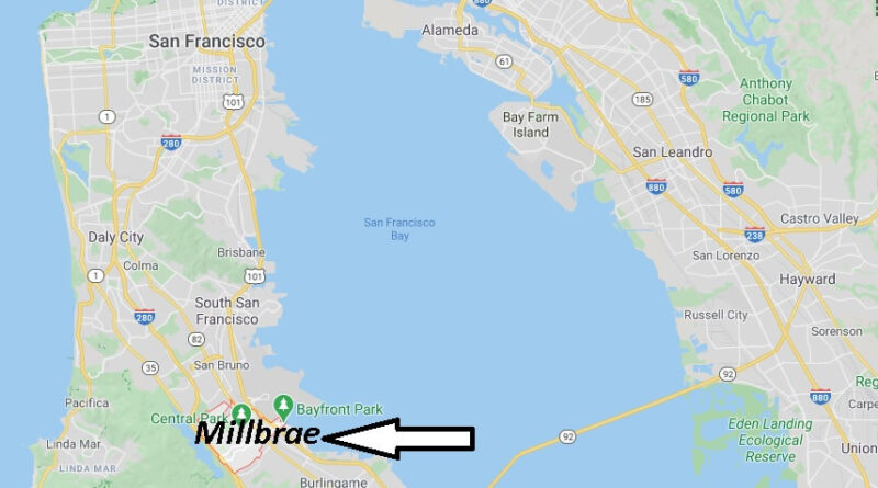 Where is Millbrae Located