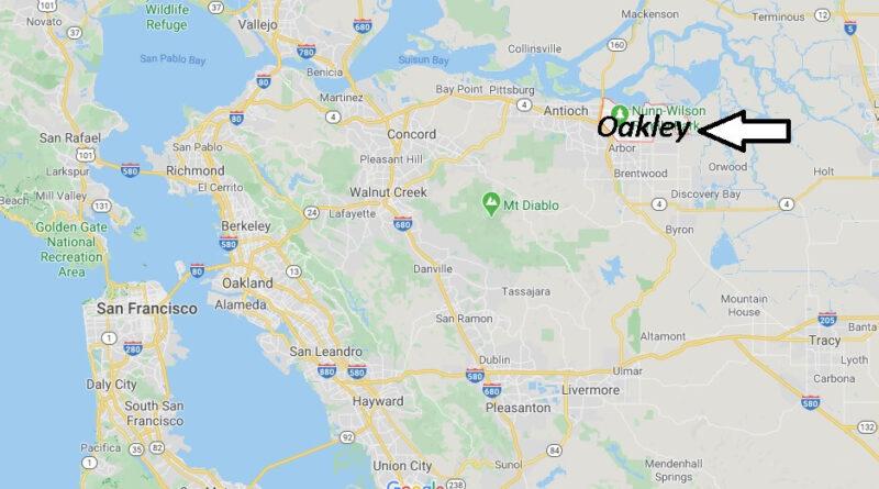 Where is Oakley California? What County is Oakley in