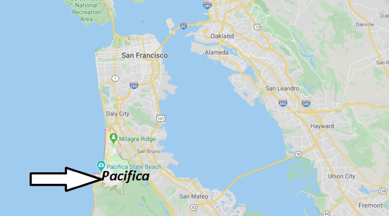 Where is Pacifica California? What County is Pacifica in