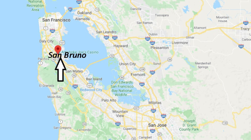 Where is San Bruno California? What County is San Bruno in
