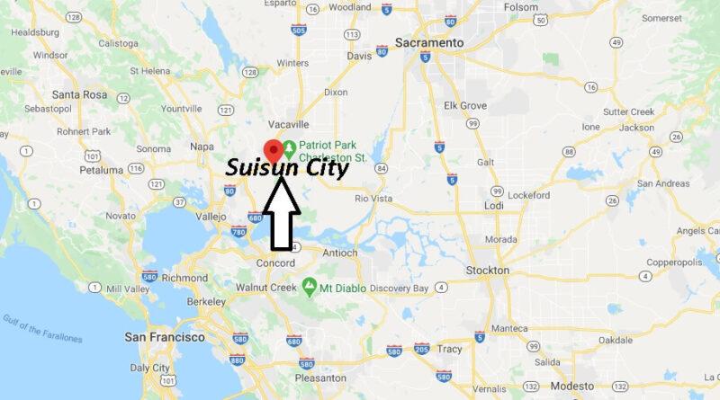 Where is Suisun City Located