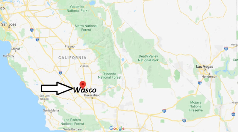 Where is Wasco Located
