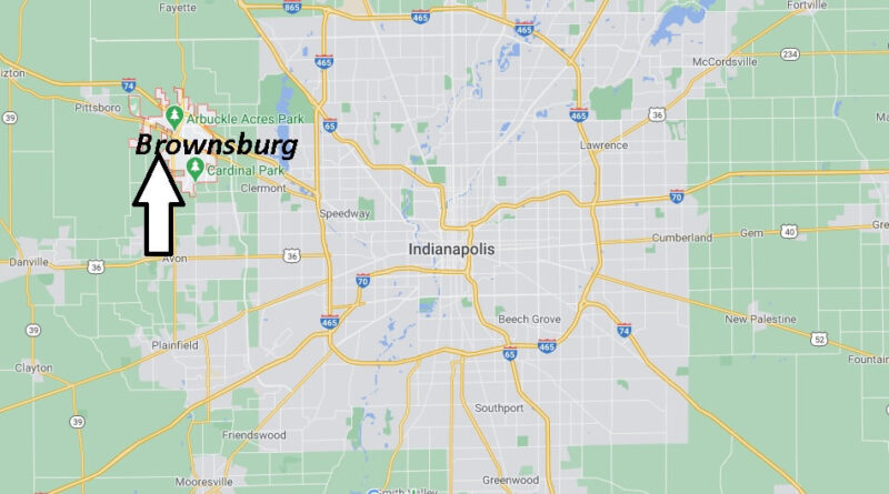 Where is Brownsburg Located