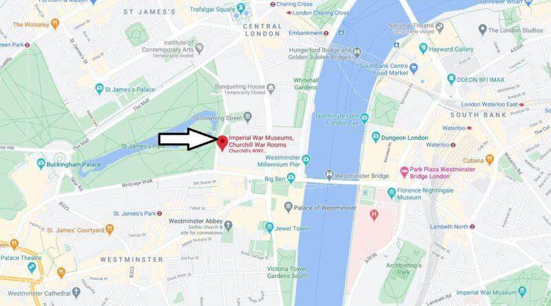 Where is Churchill War Rooms Located