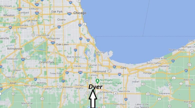 Where is Dyer Located