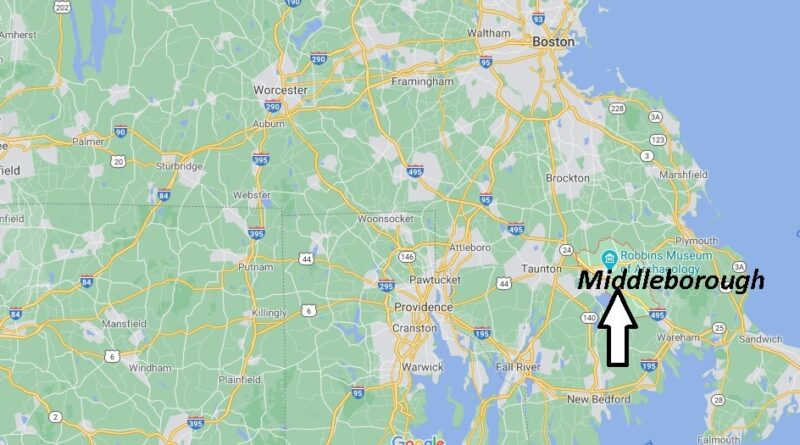 Where is Middleborough Located