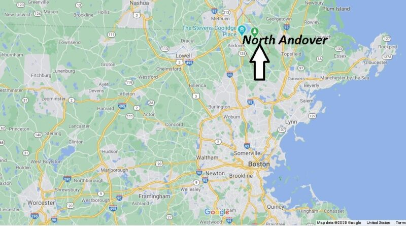 Where is North Andover Located