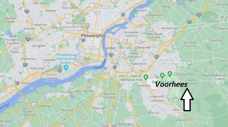 Where is Voorhees Located