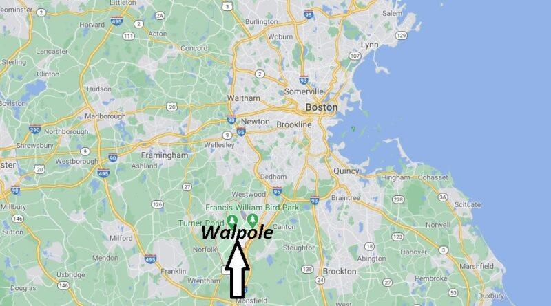 Where is Walpole Located