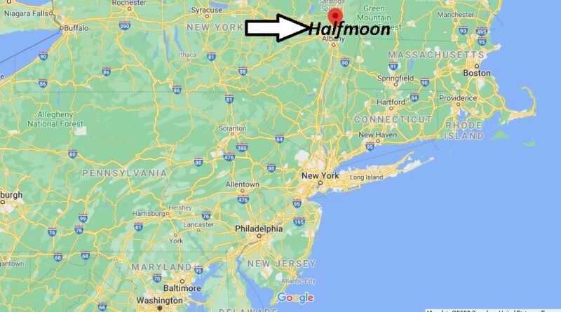 Where is Halfmoon New York