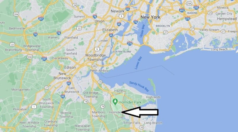 Where is Holmdel Located