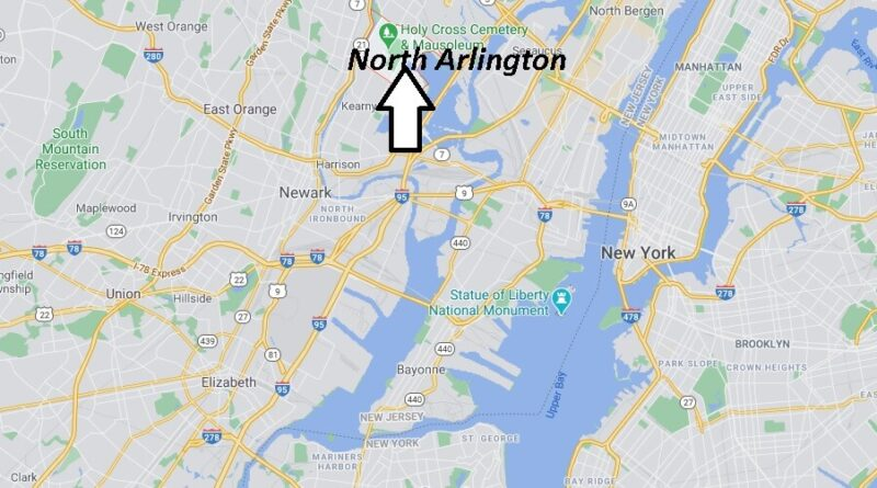 Where is North Arlington Located