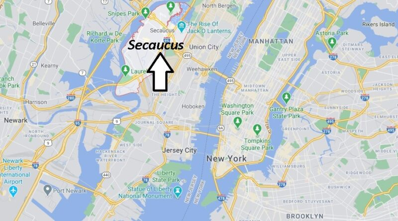 Where is Secaucus Located
