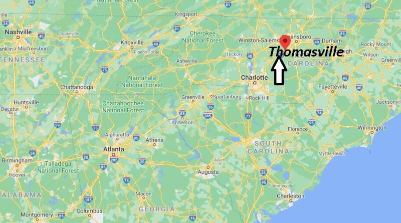 Where is Thomasville Located