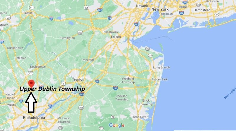 Where is Upper Dublin Township Located