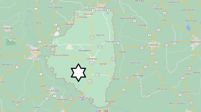 Where is Calhoun County Located