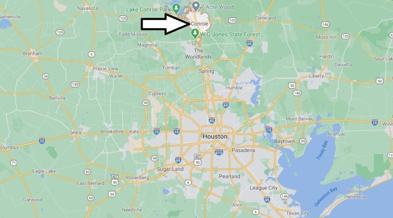 Where is Conroe Located