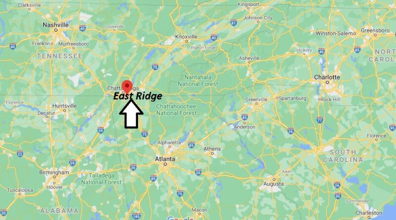 Where is East Ridge Located