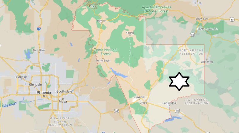 Where is Gila County Located