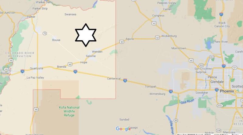 Where is La Paz County Located
