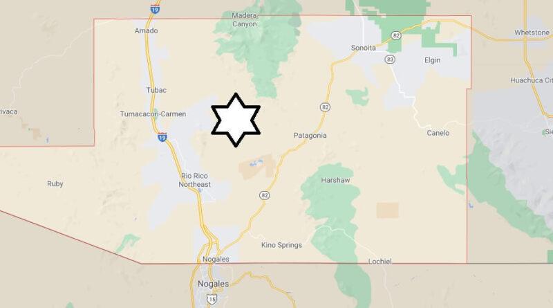 Where is Santa Cruz County Located