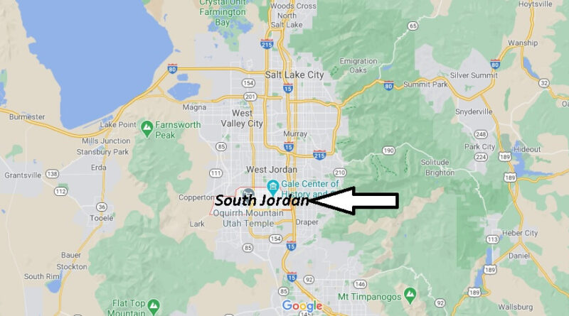 Where is South Jordan Located