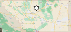 What cities are in Kern County California