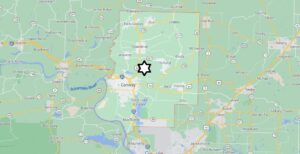 Where is Faulkner County Located