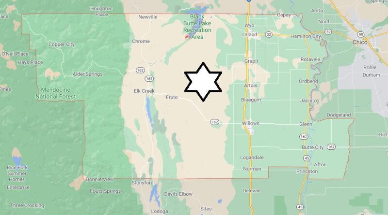 Where is Glenn County Located
