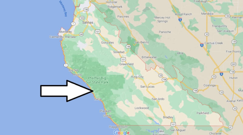 Where is Monterey County Located
