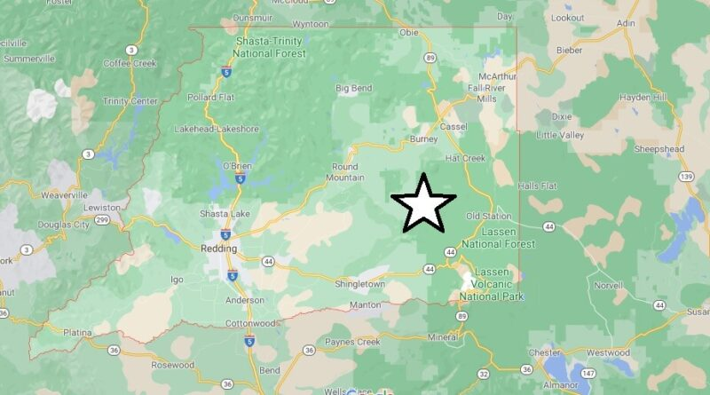 Where is Shasta County Located