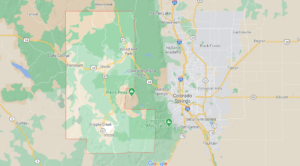 What cities are in Teller County Colorado