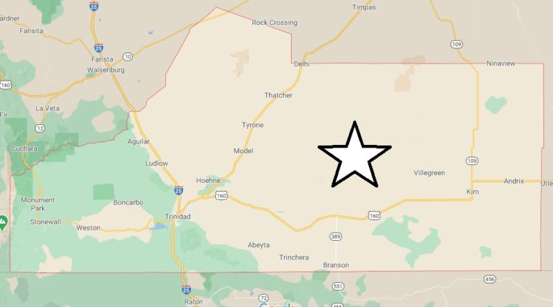 Where is Las Animas County