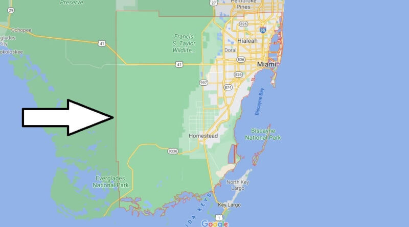 Where is Miami-Dade County Florida
