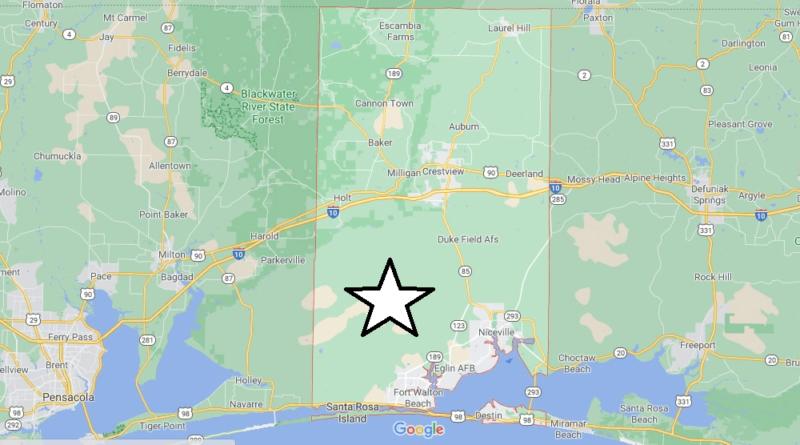 Where is Okaloosa County