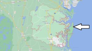 What cities are in Camden County